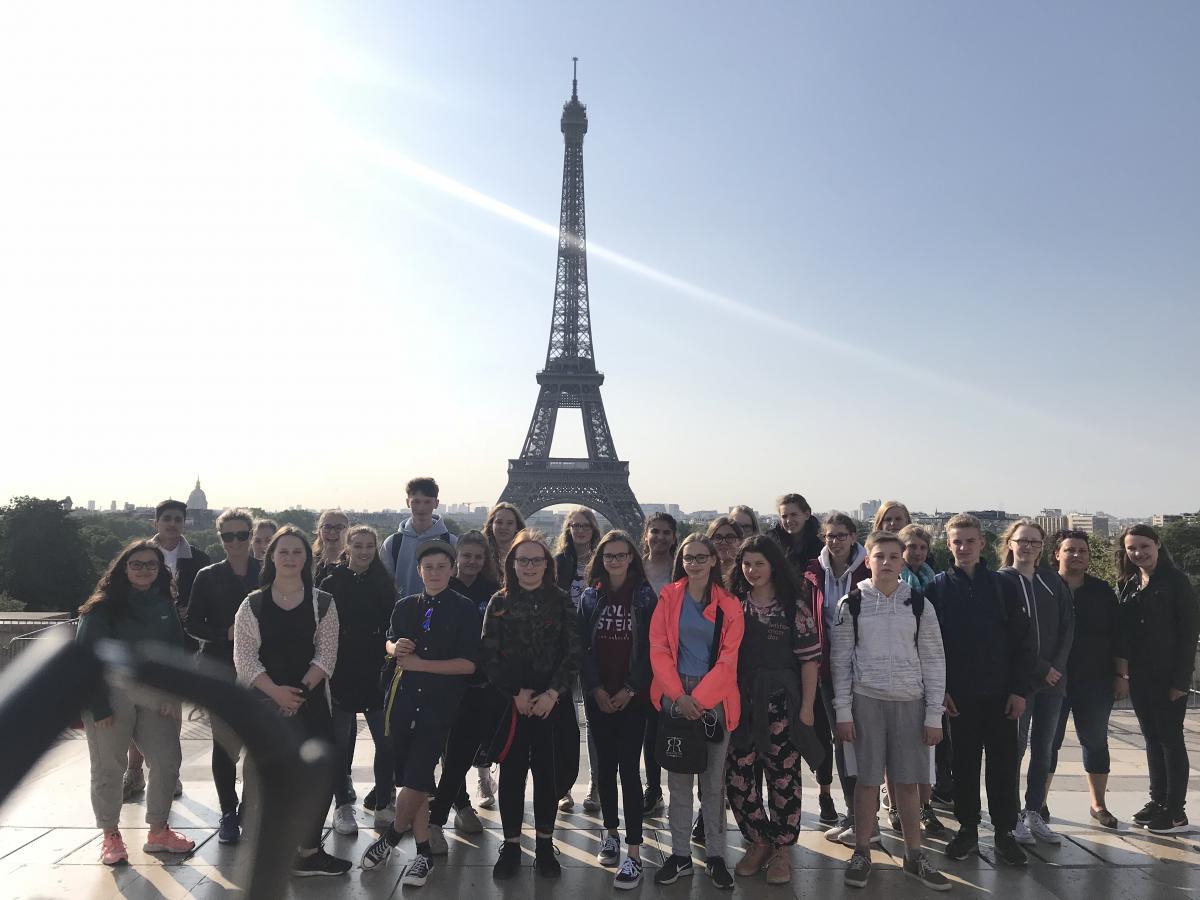 Frankreichaustausch 2018