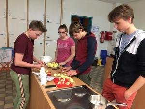 Projekttag Kochen 2